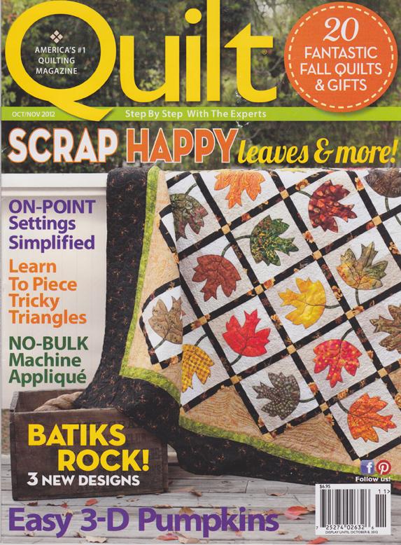 Quilt oct-nov 2012