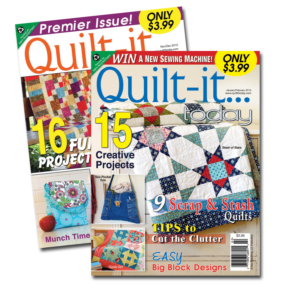 Quilt-it… today covers