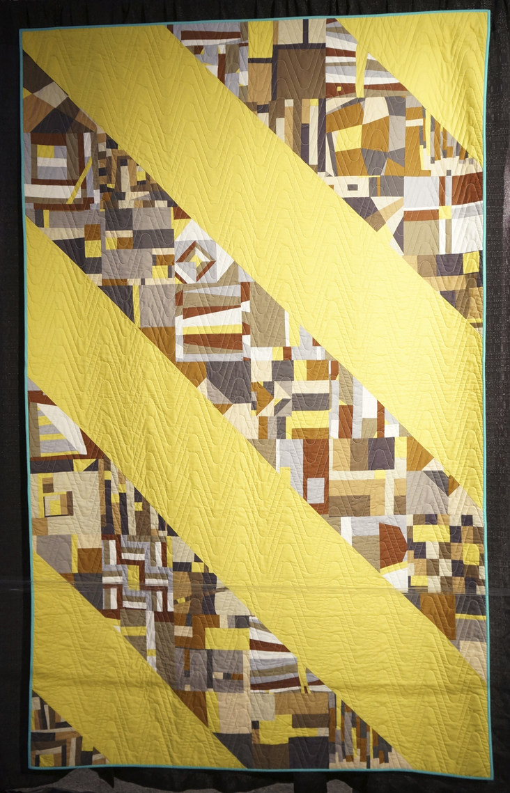 Cutting Edge Conglomerate by Earamichia Brown and the NYC Metro Mod Quilters