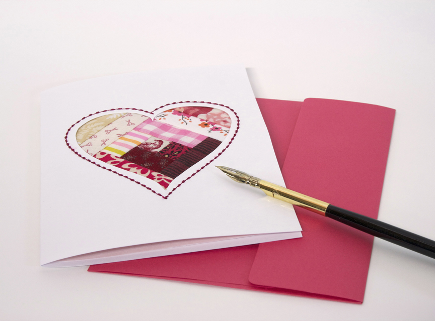 Valentine's Card flat web