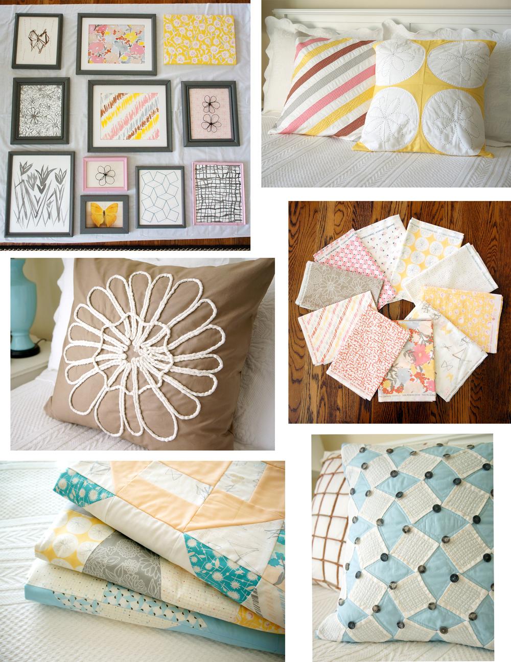 Gossamer fabrics Quilt Market preparations