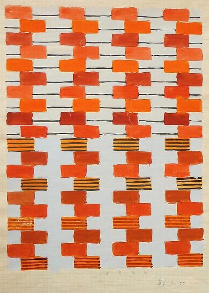 Textile design by Gunta Stolzl (1925-1931)