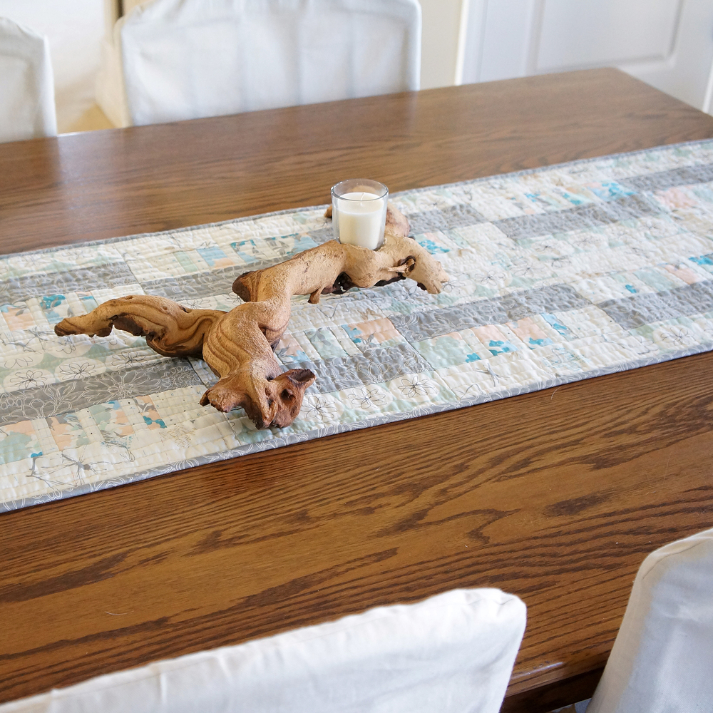 Shoreline Table Runner by Sharon Holland