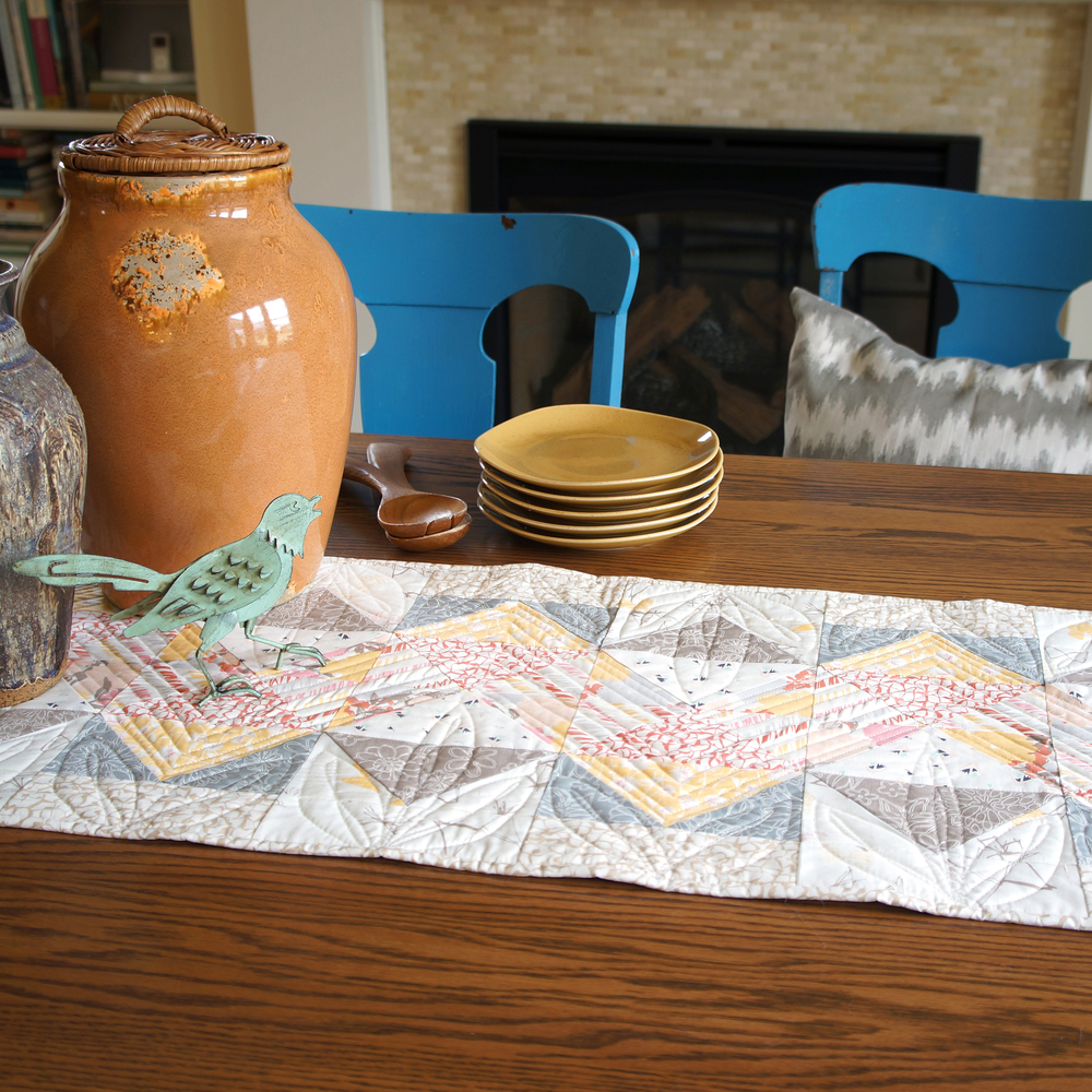 Switchback Table Runner by Sharon Holland