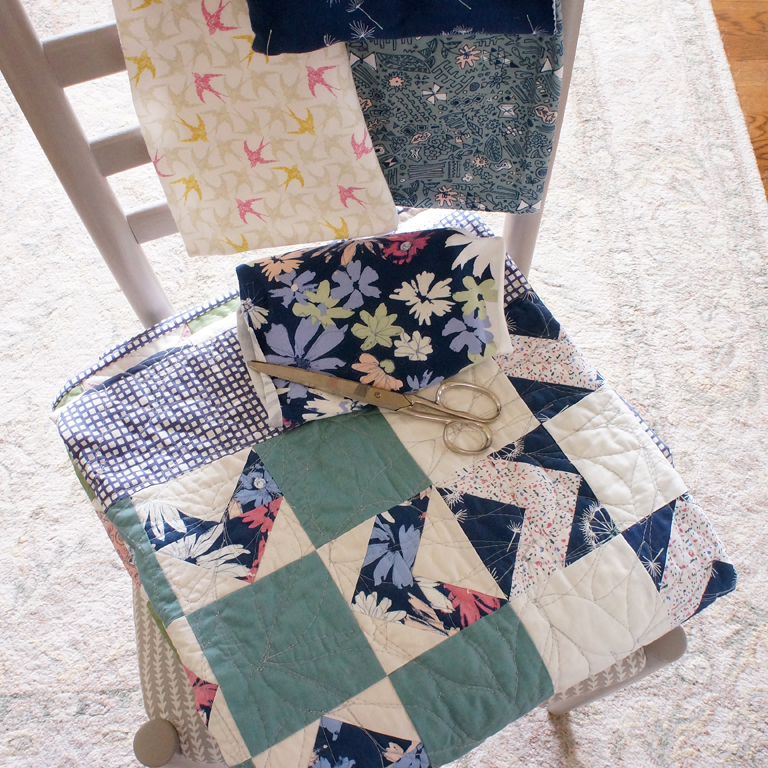 Four Winds quilt by Sharon Holland