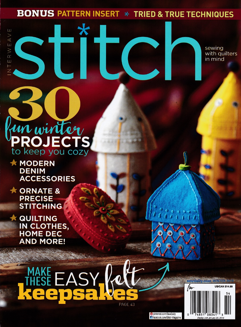 Winter 2015 Stitch magazine