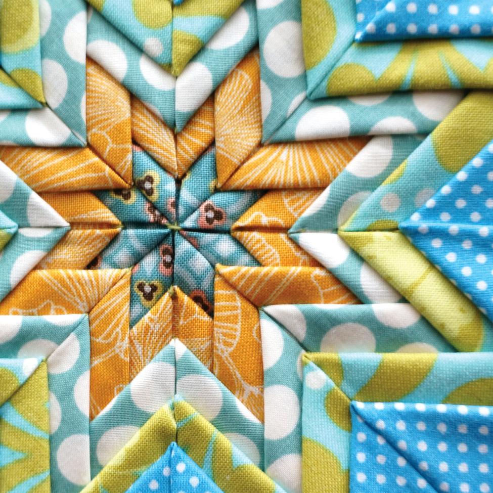 Folded Star Potholder Sharon Holland Designs