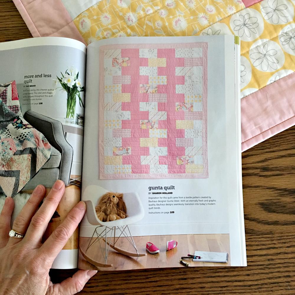 Spring 2016 Modern Patchwork Magazine