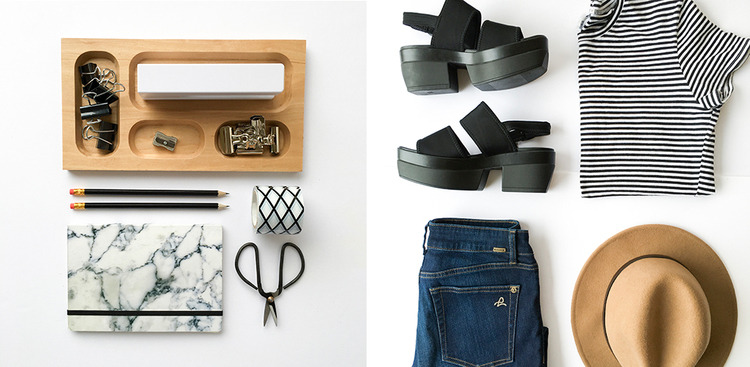 How to Style a Flat Lay by Small Talk Social