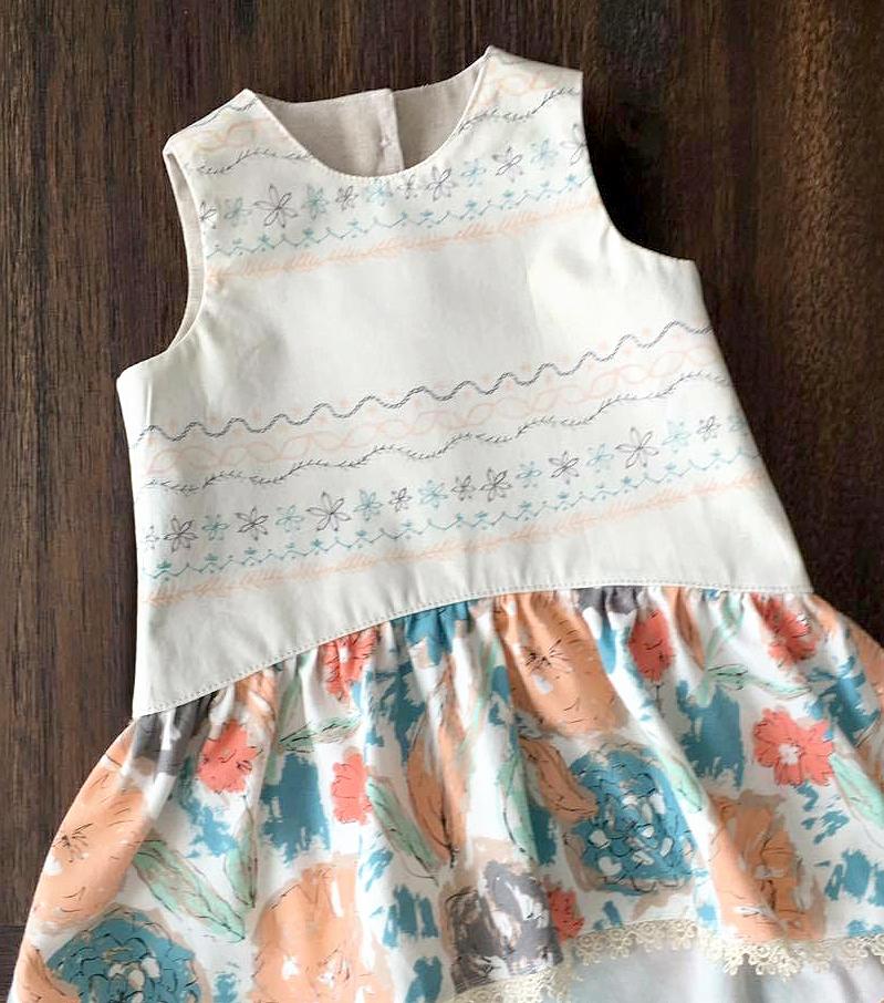 Dress by Alexis Wright of My Sweet Sunshine Studio