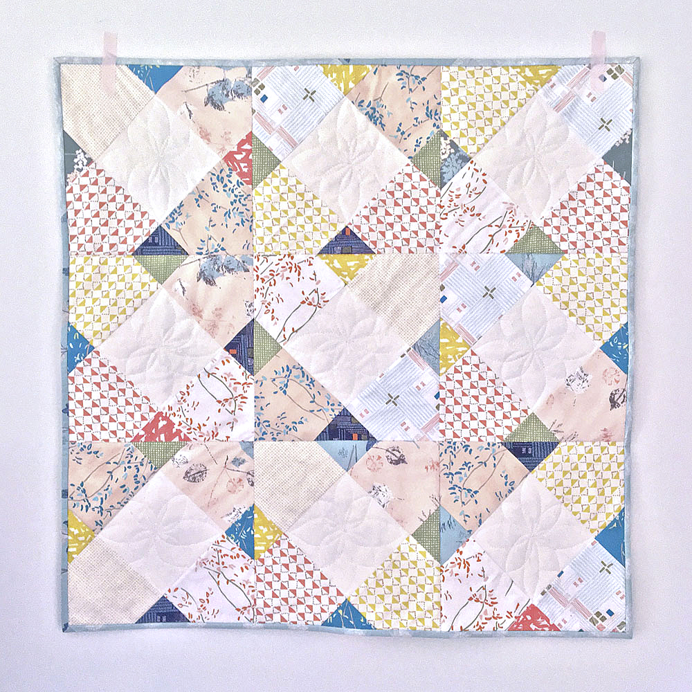 Stepping Stones quilt and photo by Blair Stocker / Wise Craft Handmade.