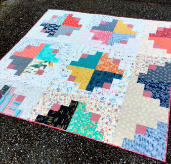 Photo and quilt by Karen O'Connor of Lady K Quilts Designs