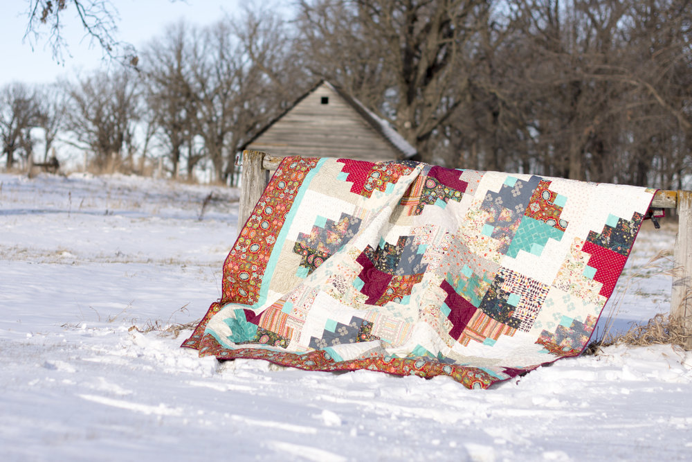 Quilt and photo by Eleri Kerian