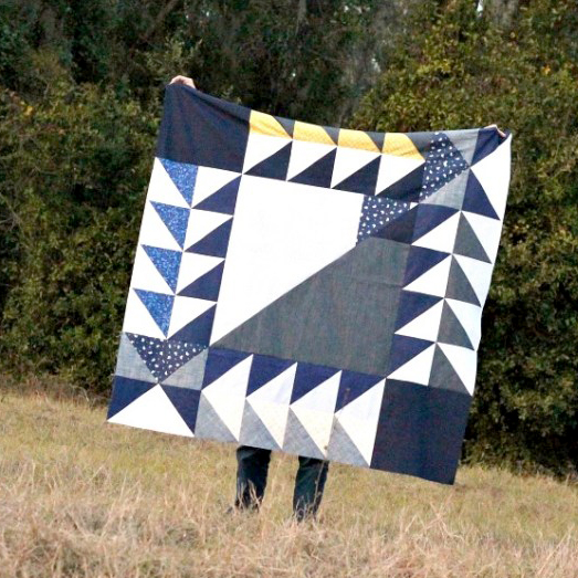 Quilt and photo by Stephanie Kendron