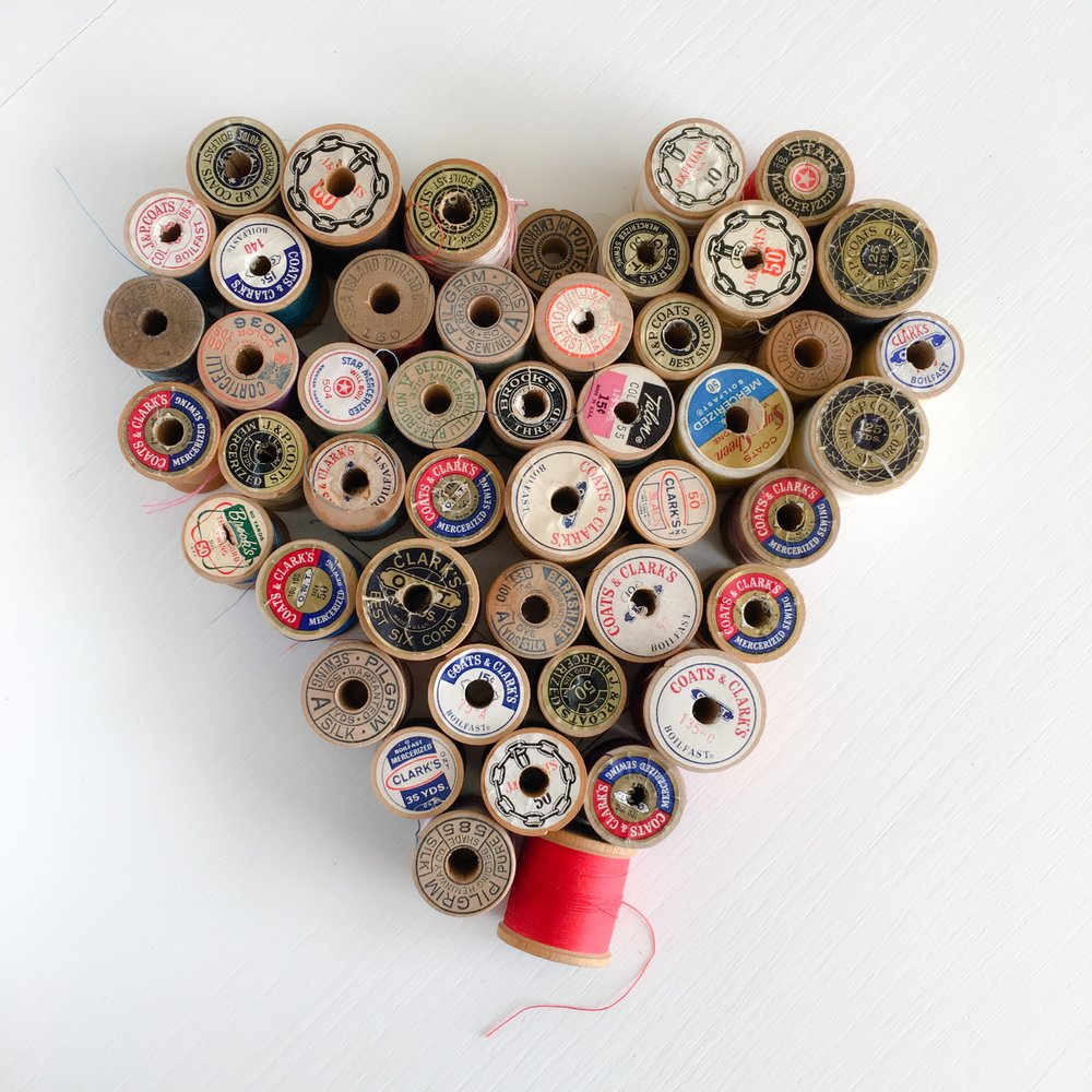 Thread Heart photo by Sharon Holland