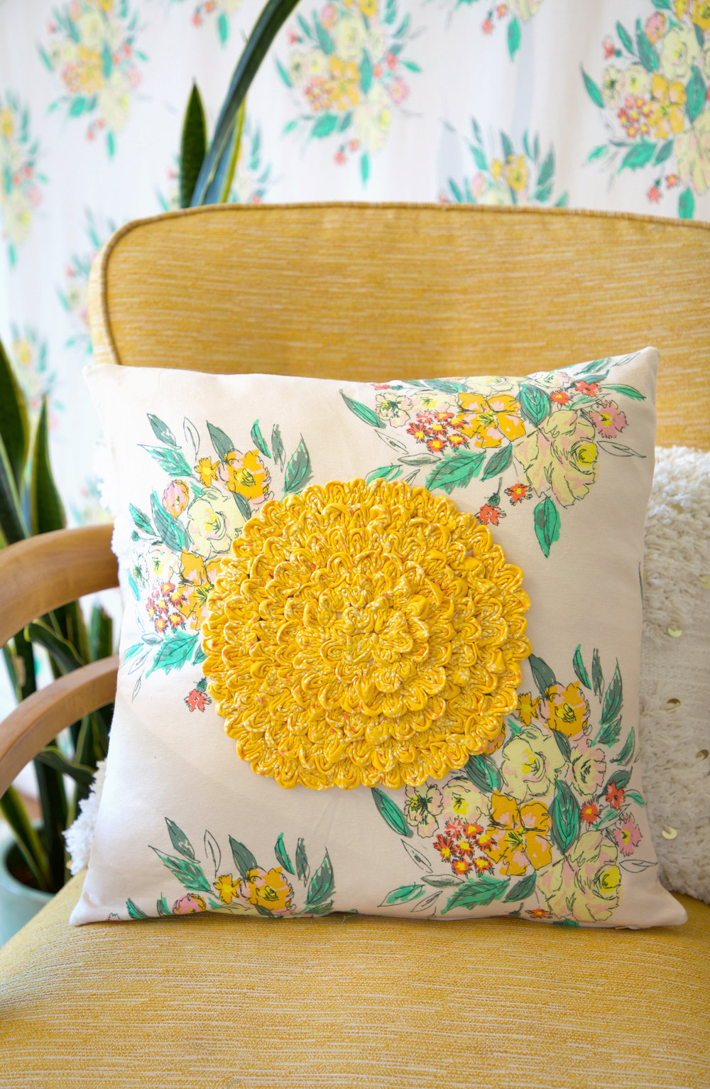 Ruching Rose Pillow 1.jpg