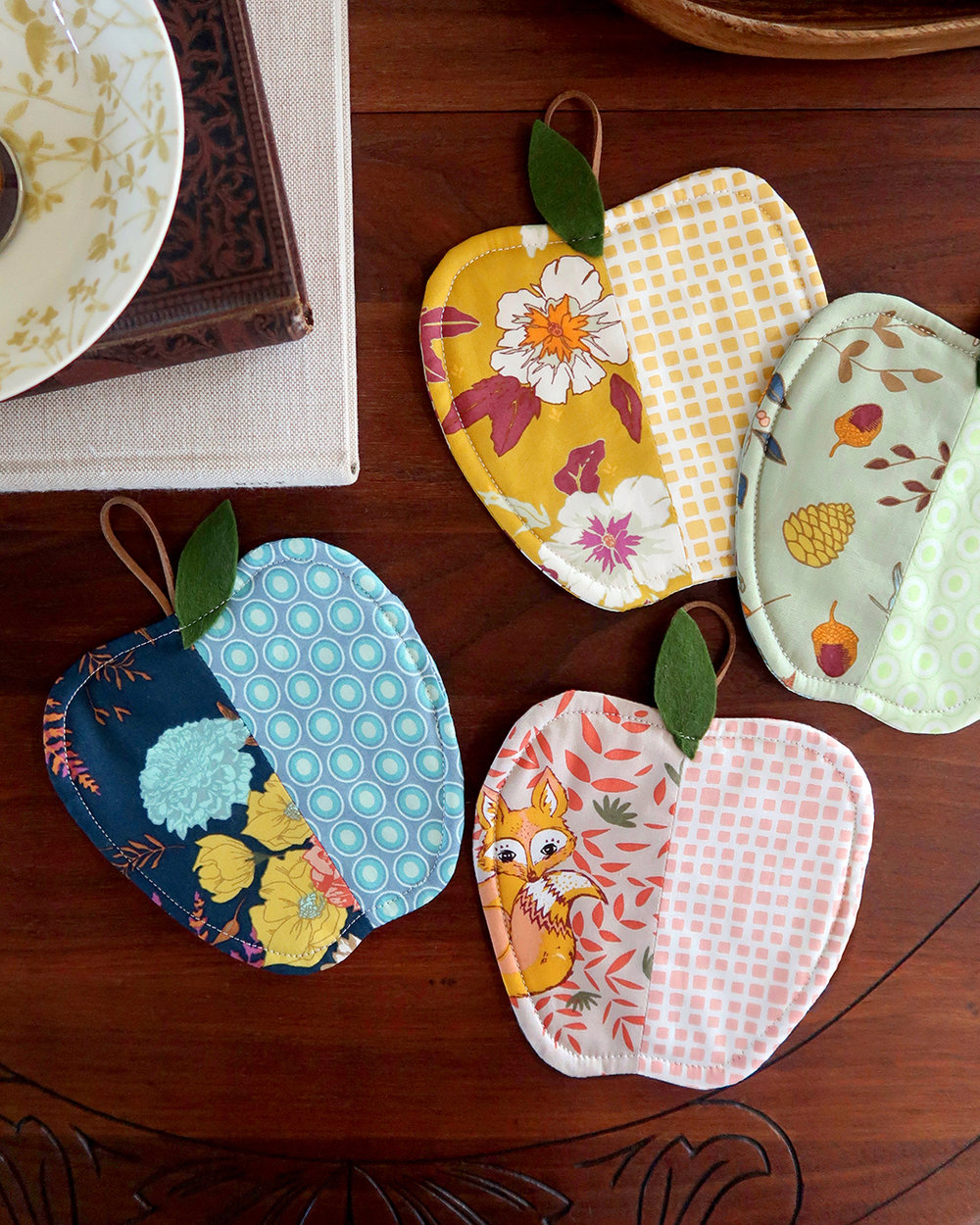 Autumn Vibe Apple Season Coasters.jpg