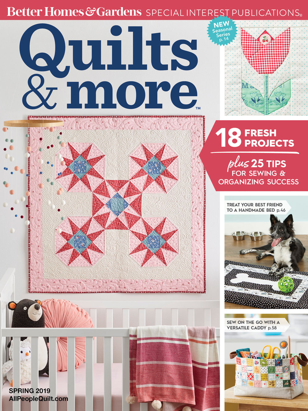 Quilts & More Spring 2019. Used with permission from Quilts & More™ magazine. ©2019 Meredith Corporation. All rights reserved.