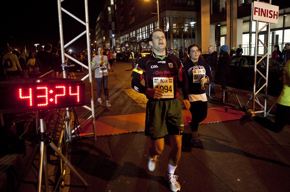 Life Style sports Run in the dark for Mark Pollock organized by Piers White, Run in Dublin 2012
