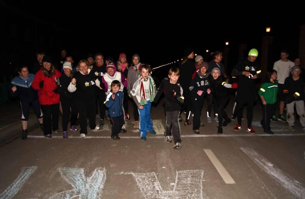 Life Style Sports Run in the Dark | Popup 2013| Mark Pollock Trust | Piers White | runinthedark.org