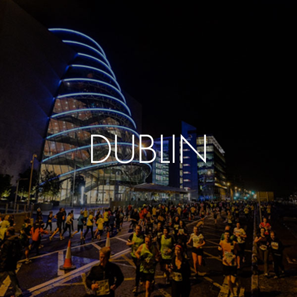 Run In The Dark Official Location | Dublin Ireland | run in Dublin City Center | runinthedark.org