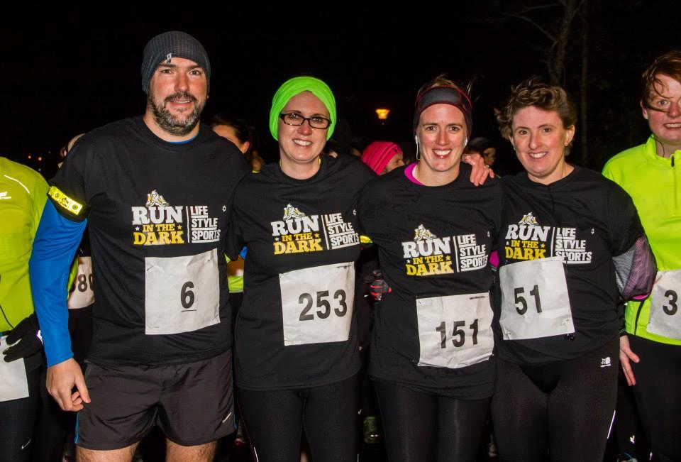 Participants run in Castlebarfor Mark Pollock | Life Style Sports Run in the DarkCastlebar | Mark Pollock Trust | Piers White | runinthedark.org