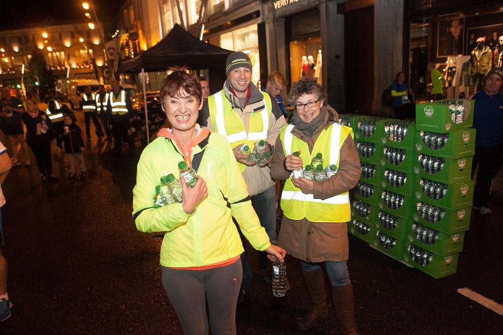 4th annual Life Style Sports Run in the Dark, Cork 2014 to support The Mark Pollock Trust's mission to fast-track a cure for paralysis. Event created by Piers White