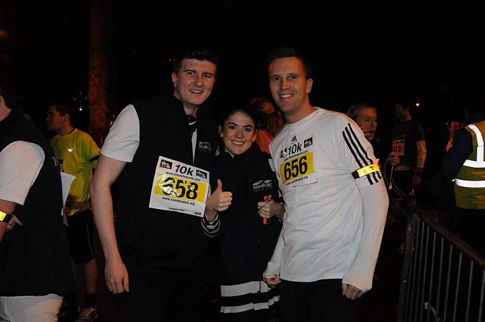 4th annual Life Style Sports Run in the Dark, London 2014 to support The Mark Pollock Trust's mission to fast-track a cure for paralysis. Event created by Piers White