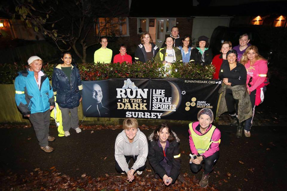Life Style Sports Run in the Dark | Popup 2014 | Mark Pollock Trust | Piers White | runinthedark.org