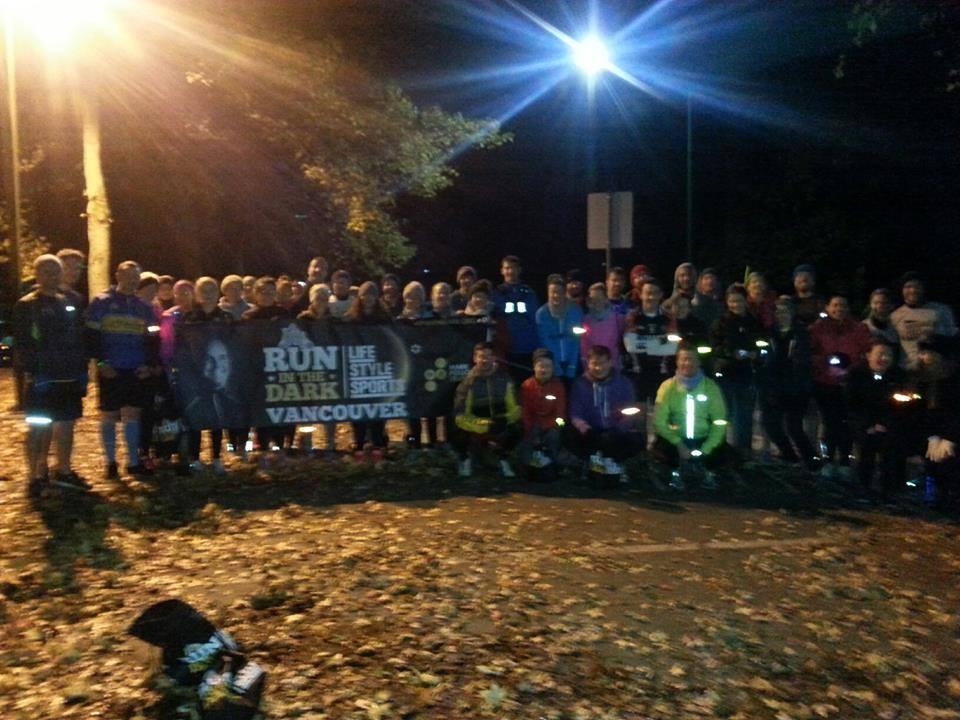 Life Style Sports Run in the Dark | Popup 2014 | Mark Pollock Trust | Piers White | runinthedark.org