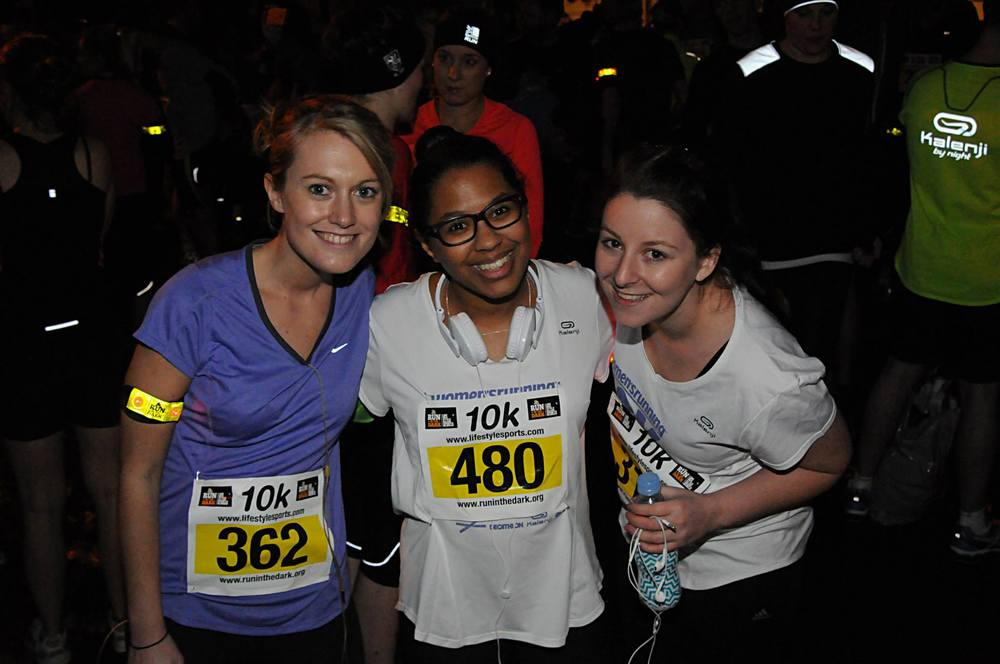 Supporters Run in London for Mark Pollock   Run London Battersea Park 2014   Run in the dark London 2014   Run for Mark Pollock   Created by Piers White   runinthedark.org