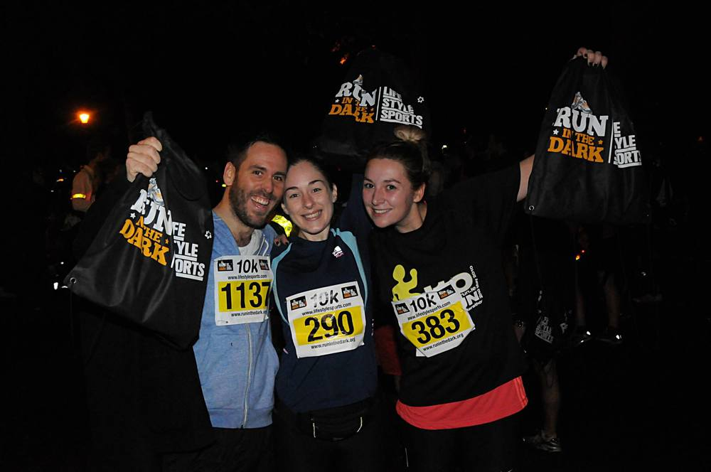 Supporters Run in London for Mark Pollock | Run London Battersea Park 2014 | Run in the dark London 2014 | Run for Mark Pollock | Created by Piers White | runinthedark.org