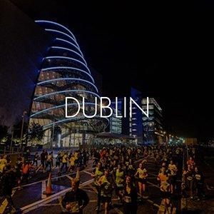 Run In The Dark Official Location | Dublin Ireland | run in Dublin City Center | runinthedark.org