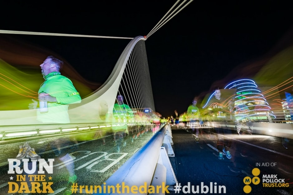 Run in the Dark Dublin 2016 - Samuel Beckett Bridge.jpg