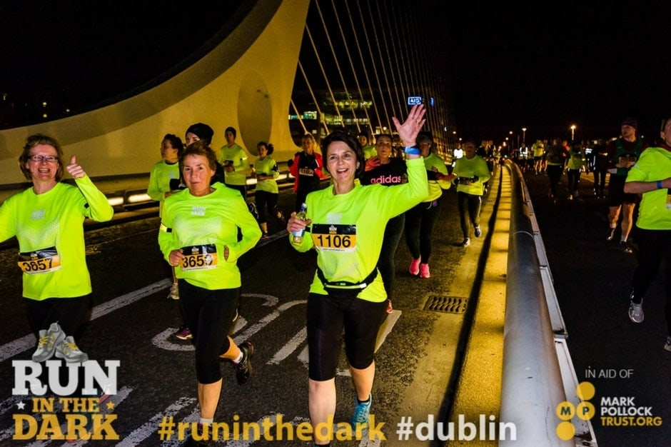 Run in the Dark Dublin 2016 - Runners on Samuel Beckett Bridge-min.jpg