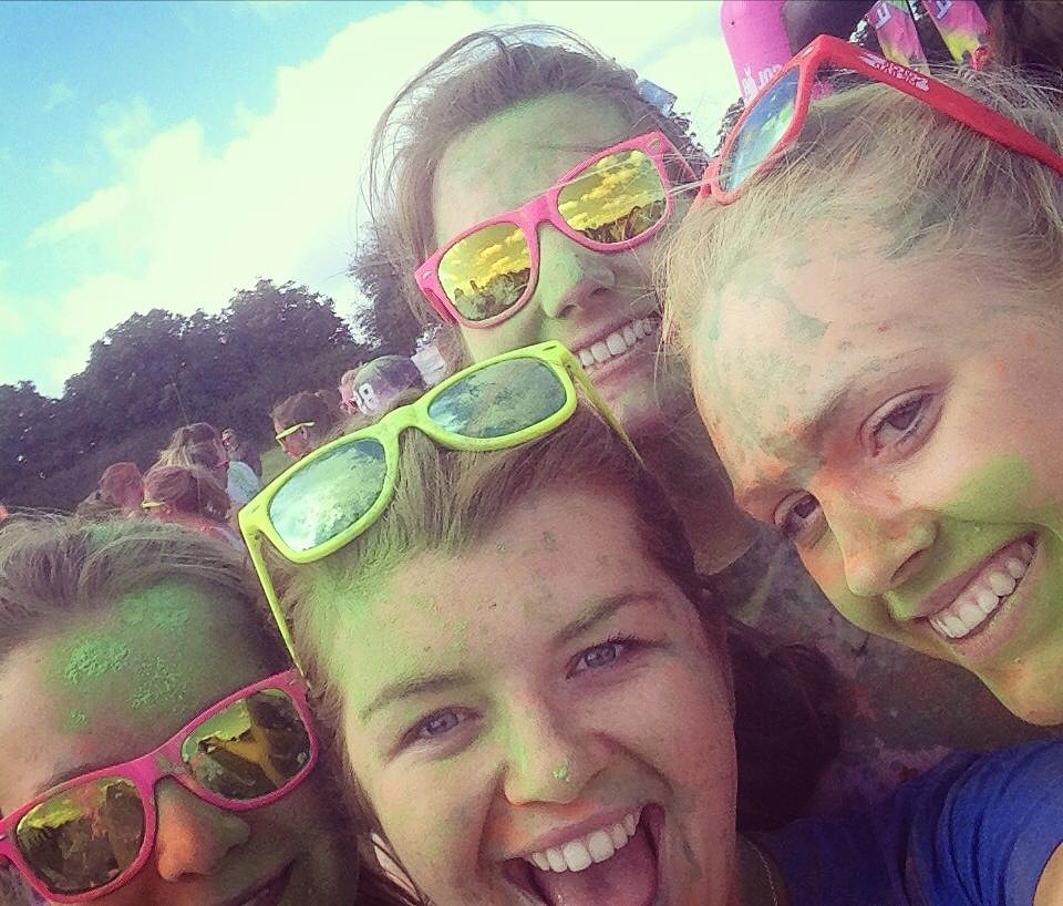 Colour Me Rad Bristol Selfie