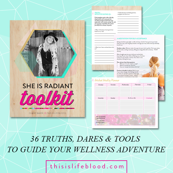 She Is Radiant Toolkit review