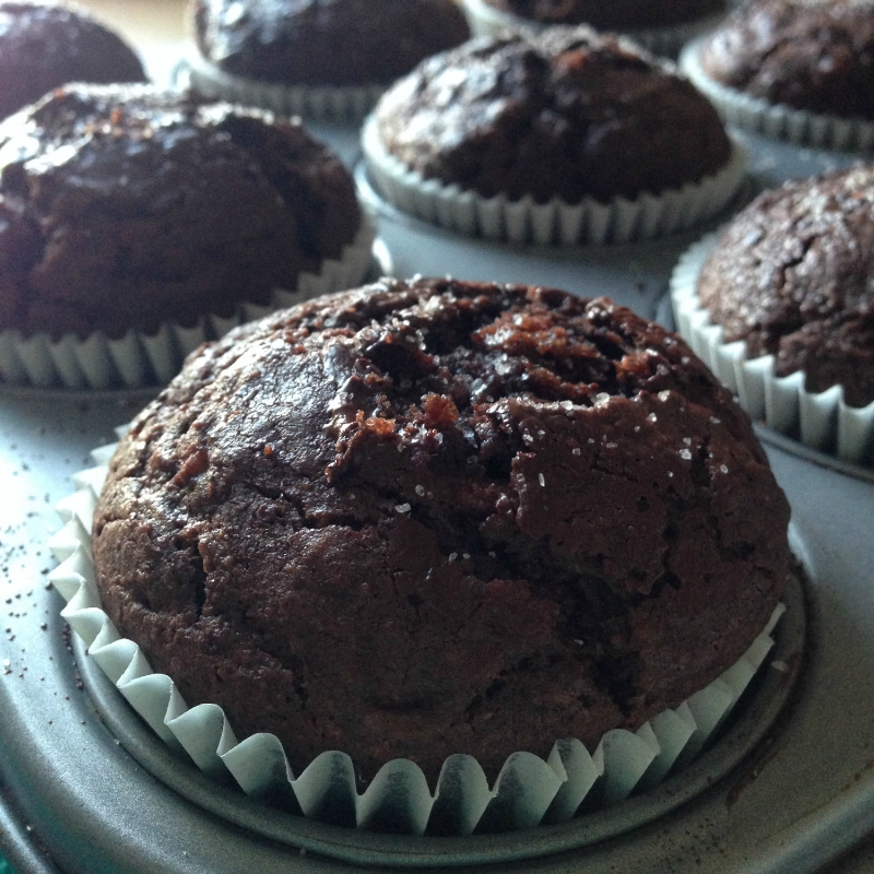 The Pitfalls of the Healthy Dessert Craze - Double chocolate spelt muffins