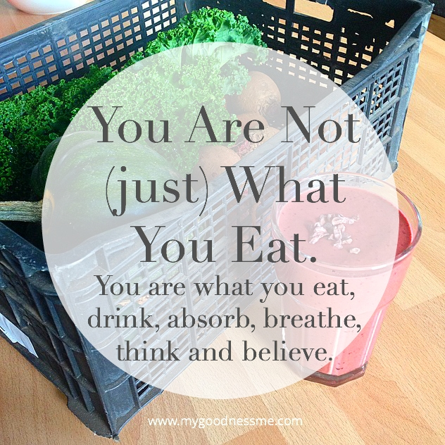 You are more than what you eat