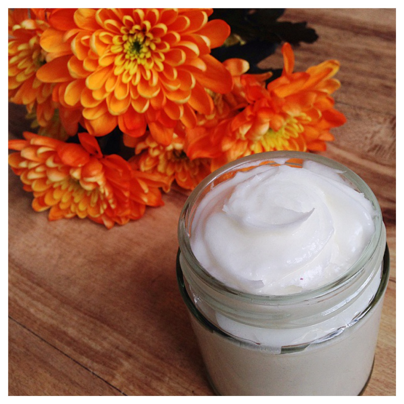 Homemade Natural Whipped Coconut Body Butter