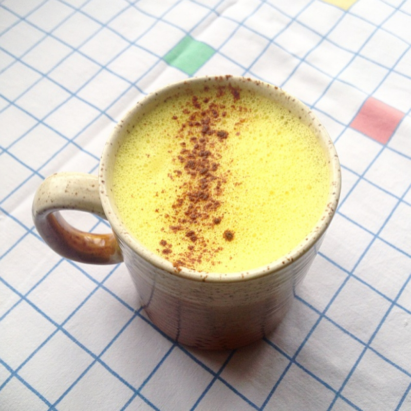 turmeric latte recipe and the health benefits of turmeric