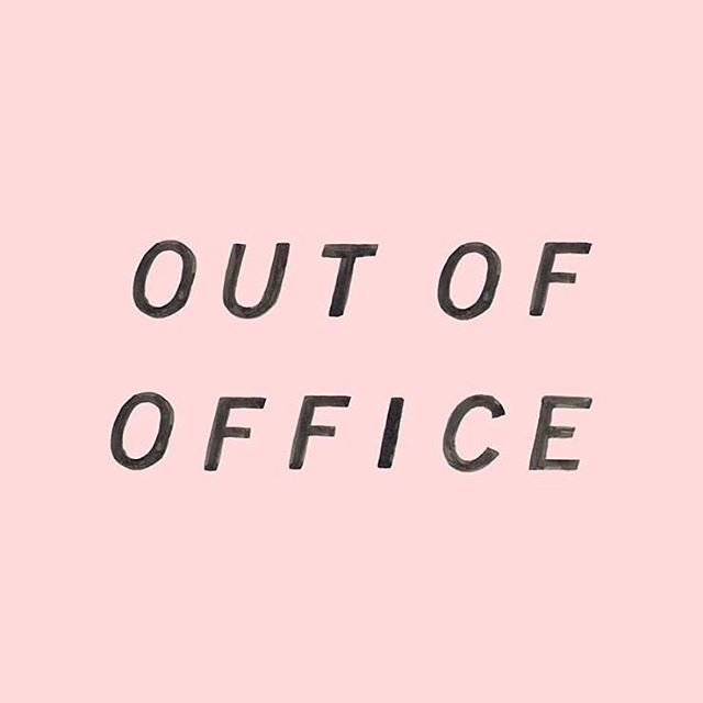 No other feeling like setting your OOO ✅ #holibobs #outofoffice