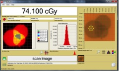 FilmQA-XR Software     FilmQA-XR radiology dosimetry software verifies radiation dose delivered by CT scanners, mammography and fluoroscopy units etc with the Gafchromic XR series of film. Scan or open images of exposed film and calculate the film exposure, based on a scanner-dependent calibration function.