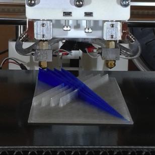 alphaXRT 3D printed logo