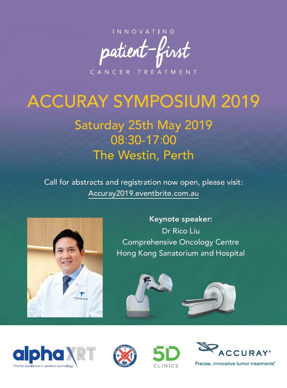 ACCURAY SYMPOSIUM 2019 — alphaXRT