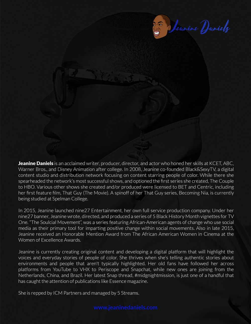 JEANINE DANIELS ONE PAGE MEDIA SHEET 2018.jpg