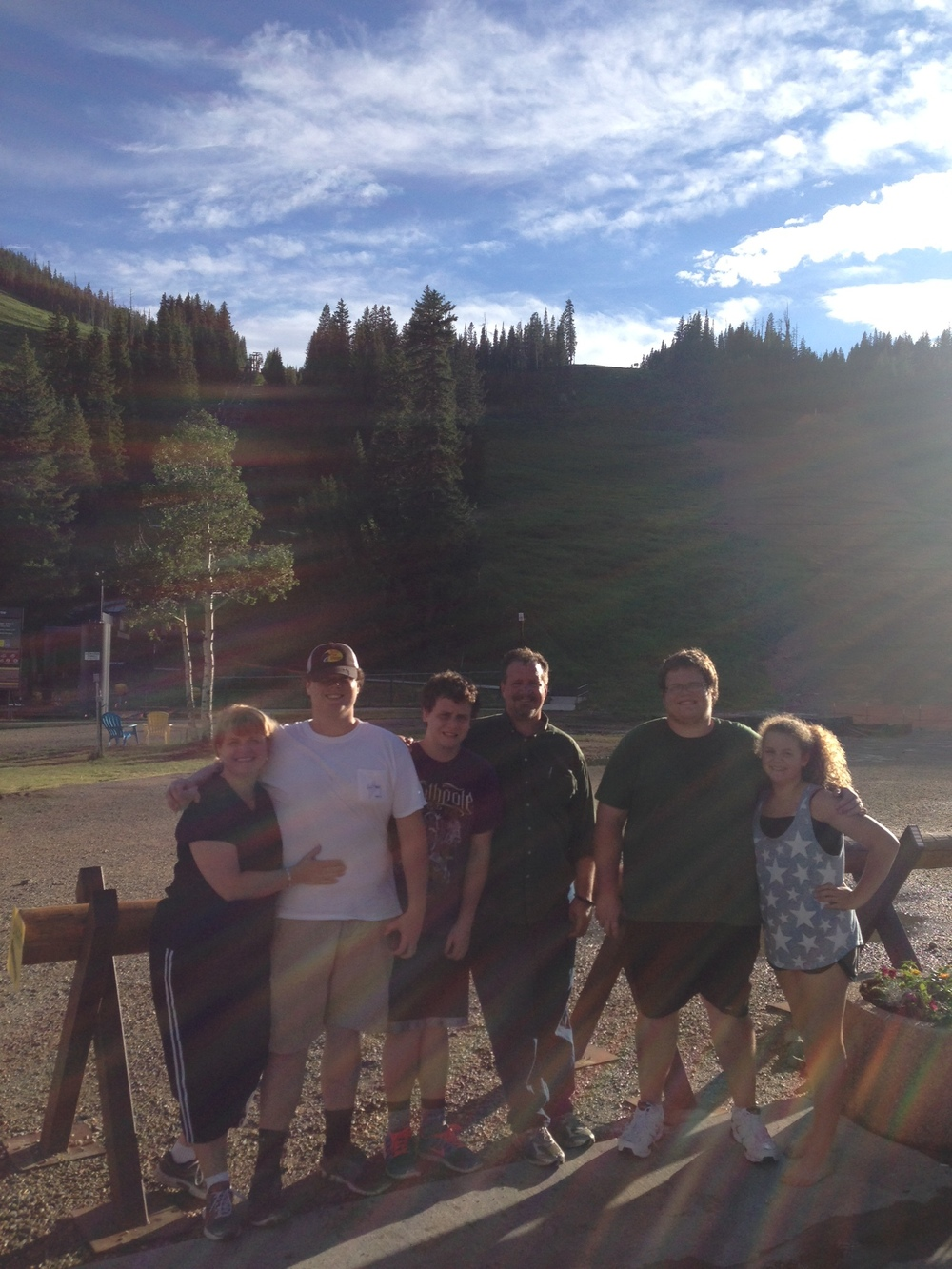 Our first family vacation to the beautiful state of Colorado and the mountain that brought us closer together.