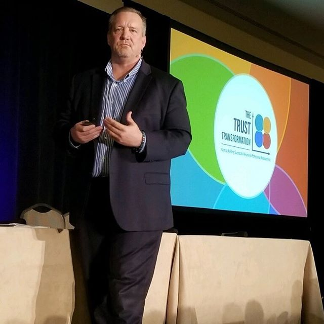 Honored to present The Trust Transformation with Dr. Omayra Mansfield to @AdventHealth leaders at the Physician Wellbeing and Engagement Conference. #feelingwhole  check out the link in the bio