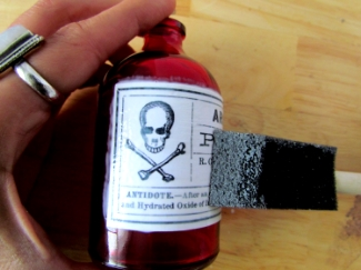 Halloween Arsenic Bottles