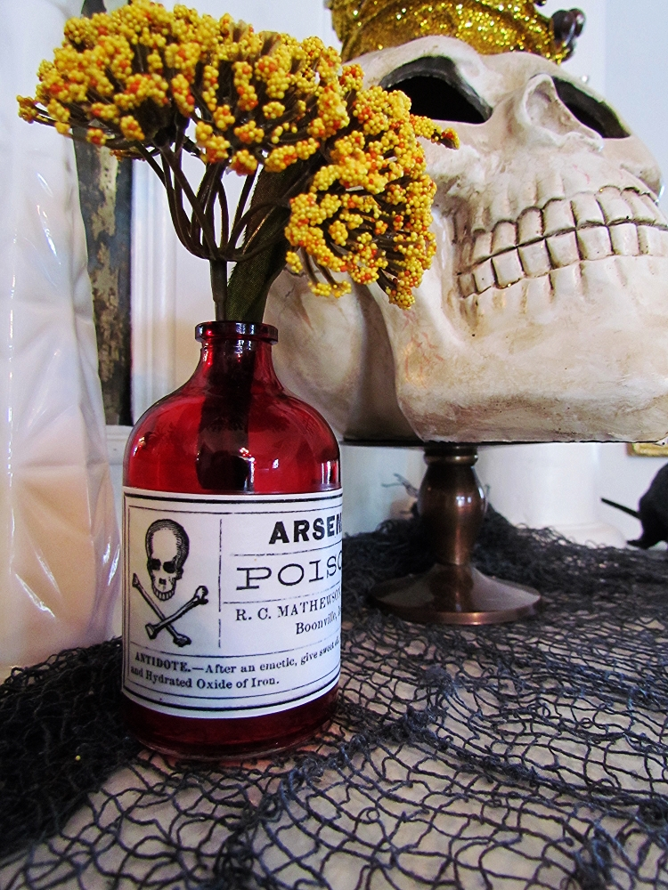 Halloween Arsenic Bottle